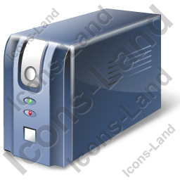 Uninterruptible Power Supply Icon