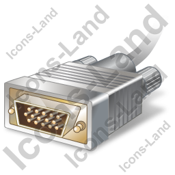 VGA Connector Plug Icon