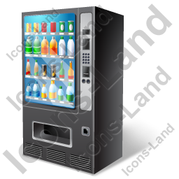 Vending Machine Full Icon
