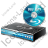 Blu-Ray Player Disc Icon