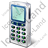 Cell Phone Old Icon, PNG/ICO, 48x48