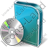 DVD Box DVD Icon, PNG/ICO, 48x48