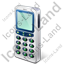 Cell Phone Old Icon, PNG/ICO, 64x64