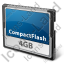 Compact Flash Card Icon