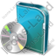 DVD Box DVD Icon, PNG/ICO, 64x64