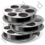 Film Reels Icon, PNG/ICO, 64x64