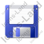 Floppy Disk Icon, PNG/ICO, 64x64