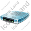 Modem Blue Icon