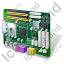 Motherboard Icon, PNG/ICO, 64x64