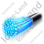 Optical Fiber Cable Icon