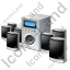 Speaker System 7.1SurroundSound Icon
