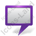 Map Marker Board Violet Icon