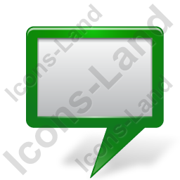 Map Marker Board Green Icon