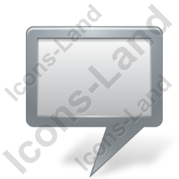 Map Marker Board Grey Icon, PNG/ICO, 256x256