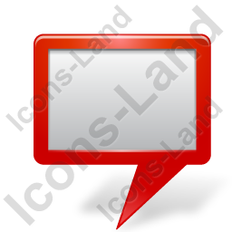 Map Marker Board Red Icon
