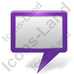 Map Marker Board Violet Icon, PNG/ICO, 256x256