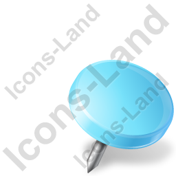Map Marker Drawing Pin Right Azure Icon