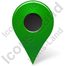 Map Marker Marker Outside Green Icon
