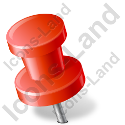 Map Marker Push Pin 2 Left Red Icon Png Ico Icons 256x256 128x128 64x64 48x48 32x32 24x24 16x16