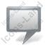 Map Marker Board Grey Icon