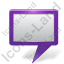 Map Marker Board Violet Icon, PNG/ICO, 64x64