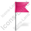Map Marker Flag 4 Right Icon