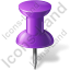 Map Marker Push Pin 1 Icon