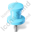 Map Marker Push Pin 2 Icon