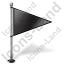 Map Marker Flag 1 Right Black Icon