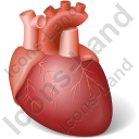 Heart Icon, PNG/ICO, 128x128
