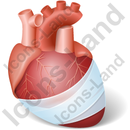 Heart Injury Icon, PNG/ICO, 256x256