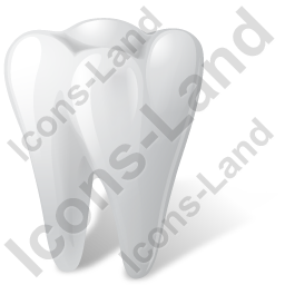 Tooth Icon, PNG/ICO, 256x256