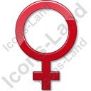 Gender Female Symbol Icon