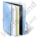 Medical Folder Icon, PNG/ICO, 128x128