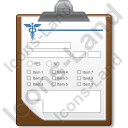 Medical Form Icon, AI,