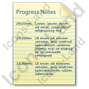 Progress Notes Document Icon