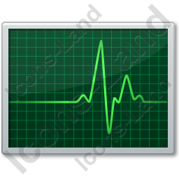 Cardiac Monitor Icon