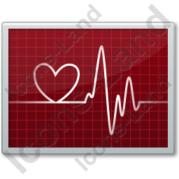 Cardiac Monitor Fun Icon