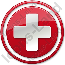 Hospital Cross Red Symbol Icon, AI, 256x256