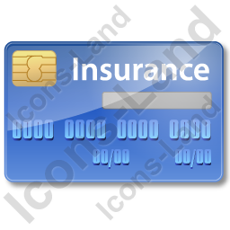 Insurance Card Icon, AI, 256x256