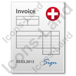 Invoice Document Icon