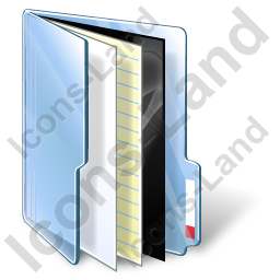 Medical Folder Icon, PNG/ICO, 256x256