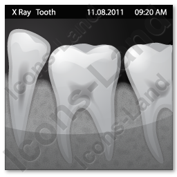 X-Ray Tooth Icon