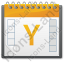 Calendar Year Icon, PNG/ICO, 64x64