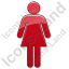 Gender Female Body Symbol Icon