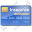 Insurance Card Icon, PNG/ICO, 64x64