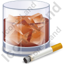 Alcohol Drink Cigarette Icon