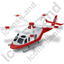 Ambulance Helicopter Icon