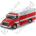 Ambulance Truck Icon