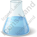 Erlenmeyer Flask Chemical Icon